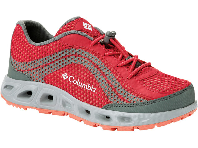 Columbia Drainmaker IV Zapatillas Niños, bright rose/hot coral